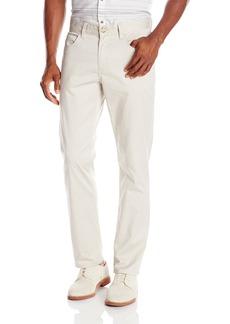Perry Ellis Men's Slim Fit Solid Sateen 5 Pocket Pant  34x30