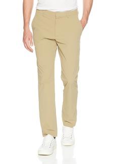 Perry Ellis Men's Slim Fit Solid Tech Pant  38W X 32L