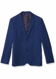 Perry Ellis Men's Slim Fit Solid Textured Suit Jacket  X Large/ Regular