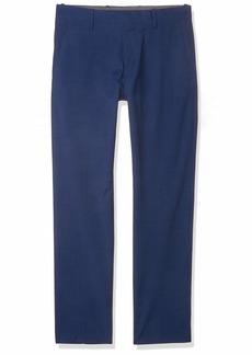 Perry Ellis Men's Slim Fit Solid Textured Suit Pant