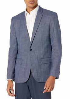 Perry Ellis Men's Slim Fit Stretch Crosshatch Suit Jacket  /42 Regular