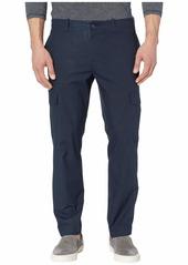 Perry Ellis Men's Slim Fit Stretch Cargo Pant Dark Sapphire-4ESB7339 31W X 30L