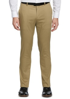 Perry Ellis Men's Slim-Fit Stretch Cotton Dress Pants