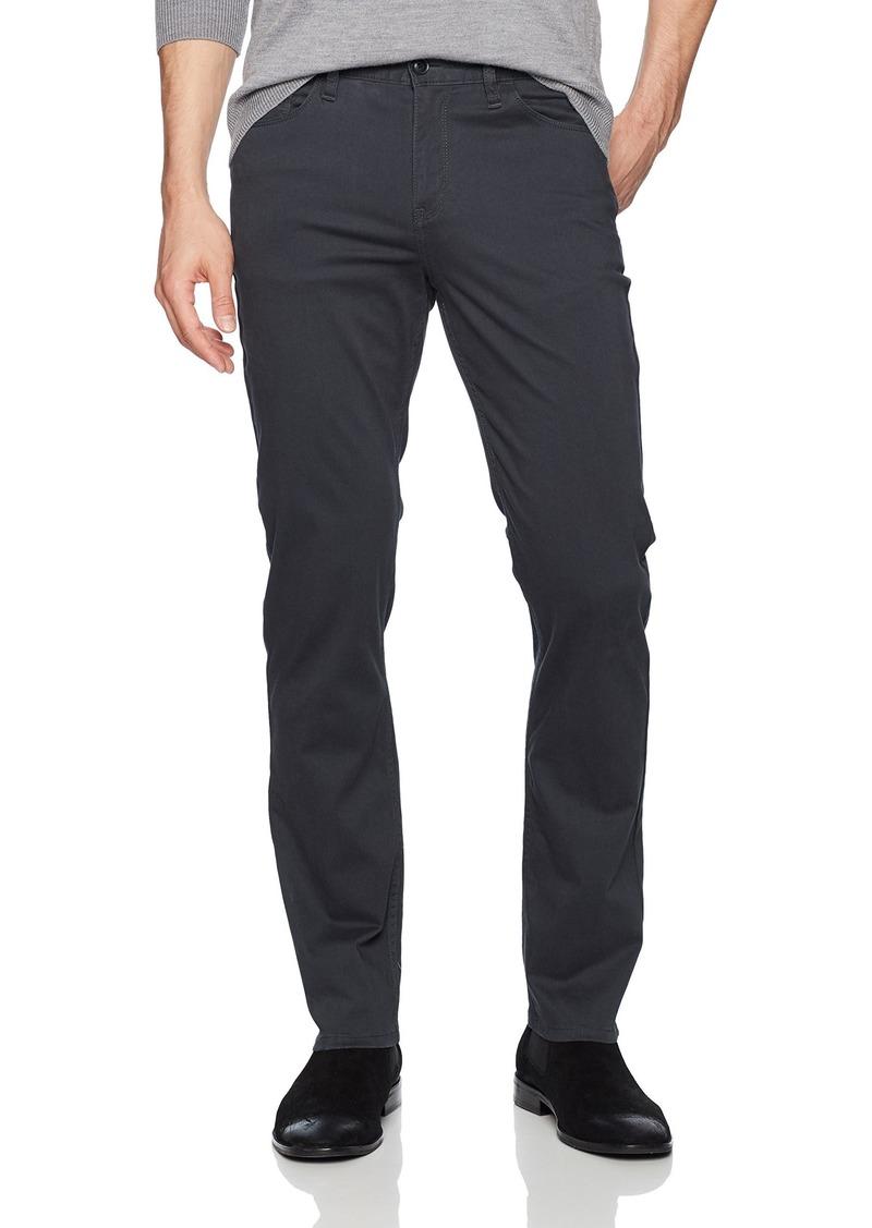 Perry Ellis Men's Slim Fit Stretch Five Pocket Satin Pant CHARCOAL-4CSB9354 38W X 30L