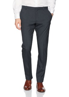 Perry Ellis Men's Slim Fit Stretch Heather Check Pant  34W X 30L