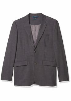 Perry Ellis Men's Slim Fit Stretch Sharkskin Suit Jacket  Large/ Regular