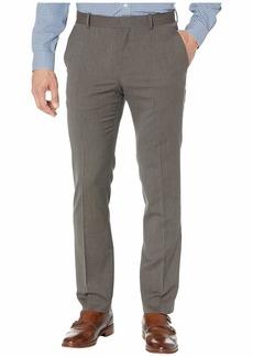 Perry Ellis Men's Slim Fit Stripe Stretch Pant Ganache-4EMB4318