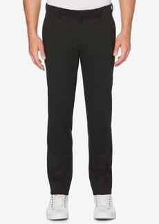 Perry Ellis Men's Slim Tonal Pattern Knit Pants