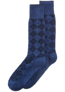Perry Ellis Men's Socks, Diamond Single Pack