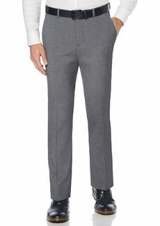 Perry Ellis Men's Solid Herringbone Slim Fit Pant  38x34