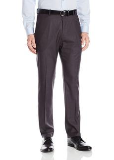 Perry Ellis Men's Solid herringbone Slim Fit Pant  31x32