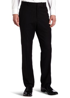 Perry Ellis Men's Solid herringbone Slim Fit Pant  34x34