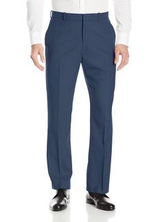 Perry Ellis Men's Solid Texture Flat Front Suit Pant  38x32