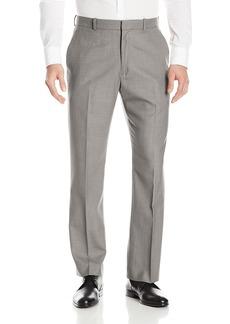 Perry Ellis Men's Solid Texture Flat Front Suit Pant  40x32