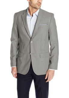 Perry Ellis Men's Solid Texture Suit Jacket  Large/ reg