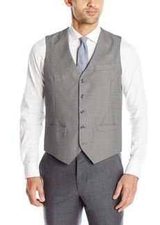 Perry Ellis Men's Solid Texture Suit Vest