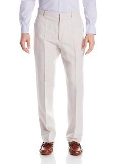 Perry Ellis Men's Standard Linen Suit Pant  40W X 32L