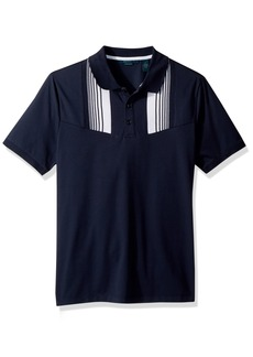 Perry Ellis Men's Stretch Pima Texture Polo