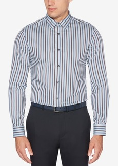 Perry Ellis Men's Stripe Performance Shirt