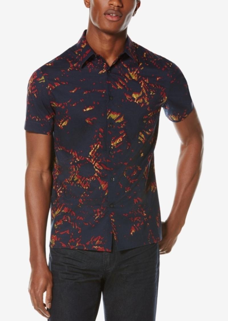 Perry Ellis Men's Sunfire Short-Sleeve Shirt