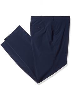 Perry Ellis Men's Size Slim Fit Tall Solid Tech Pant Dark SAPPHIRET 38W X 36L