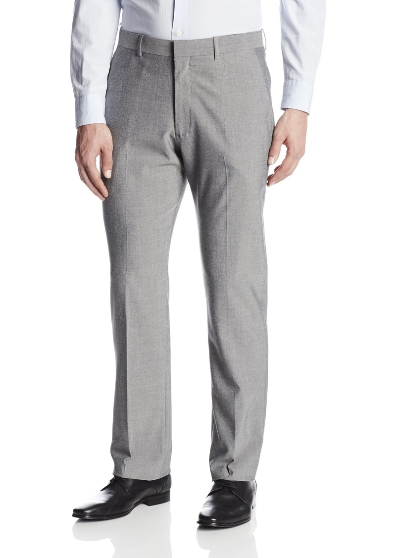 Perry Ellis Men's Tavel Luxe Slim Fit Heathered Solid Pant  36x29