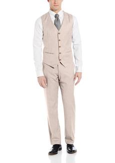 Perry Ellis Men's Texture PVL Suit Vest