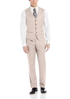 Perry Ellis Men's Texture PVL Suit Vest