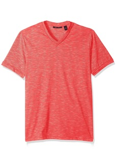 Perry Ellis Men's Texture Slub V-Neck Tee Shirt