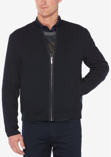 Perry Ellis Men's Textured Bomber Jacket
