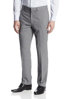 Perry Ellis Men's Travel Luxe Slim Fit Check Pant  30x29