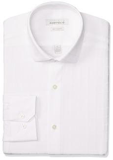 Perry Ellis Men's Very Slim Fit Performance Dress Shirt  17.5 32/33