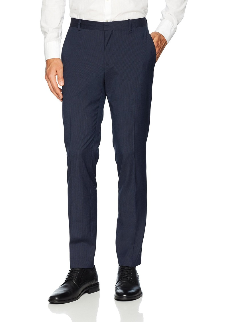 Perry Ellis Men's Very Slim Fit Pin Stripe Pant  31W X 30L