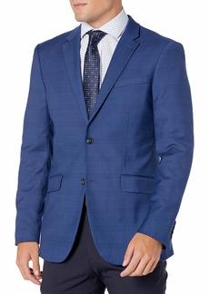 Perry Ellis Men's Very Slim Fit Plaid Stretch Jacket  Small/ Regular