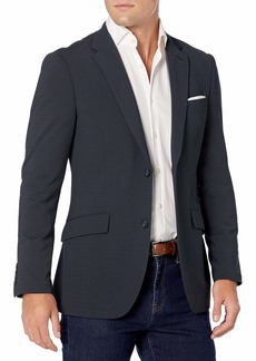 Perry Ellis Men's Very Slim Fit Stretch Solid Dot Print Suit Jacket  X Large/ Regular