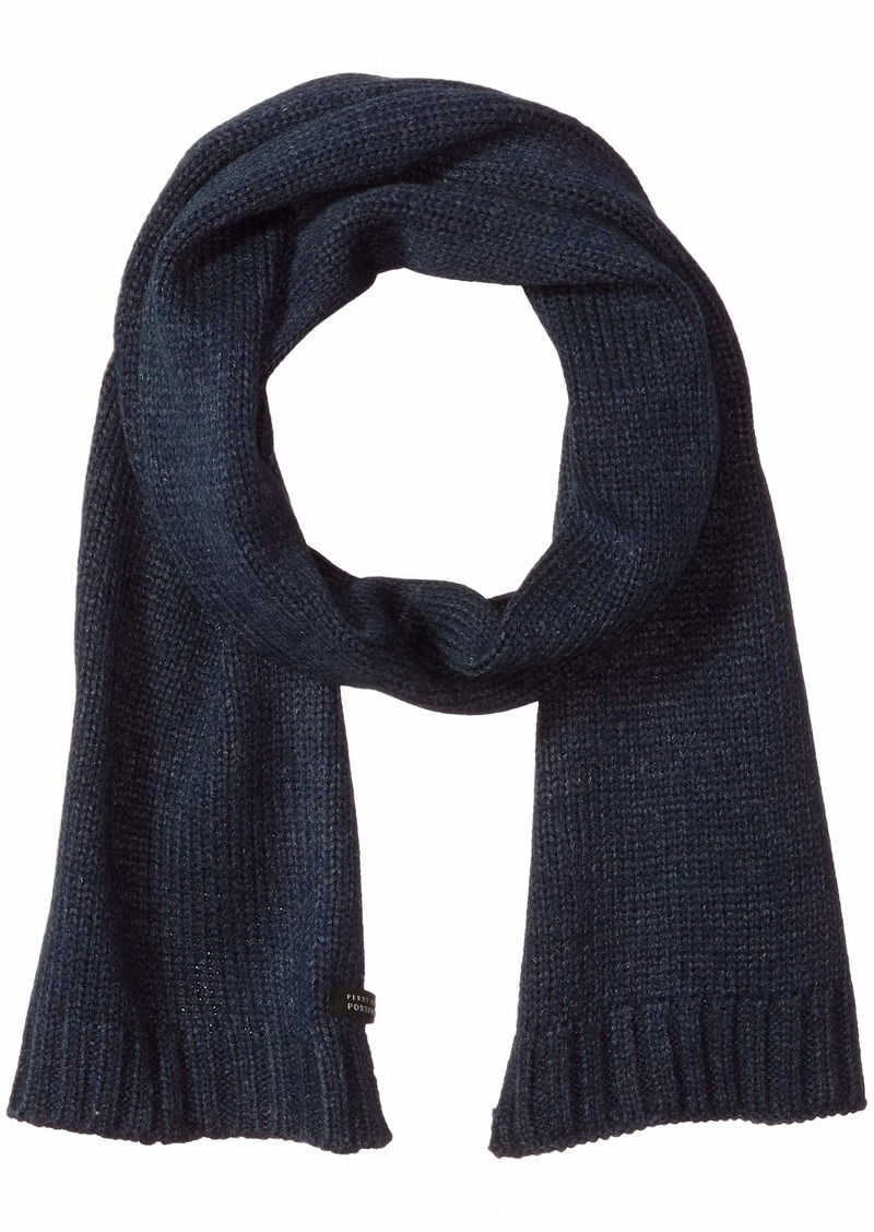 Perry Ellis Men's Washed Chunky Scarf