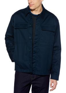 Perry Ellis Men's Water-Repellent Performance Stretch Shirt Jacket