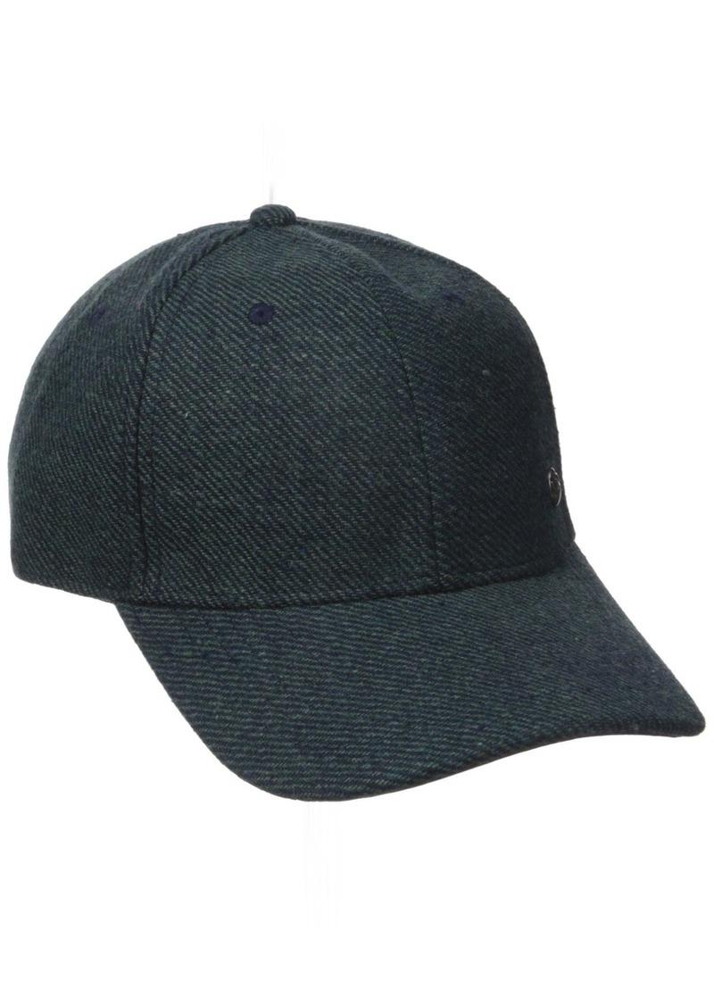 Perry Ellis Men's Wool Twill Baseball Cap