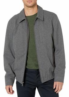 Perry Ellis Men's Zip Front Laydown Collar Jacket  XXL