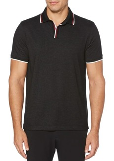 Perry Ellis Open Collar Short-Sleeve Polo