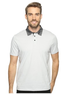 Perry Ellis Pima Chambray Polo Shirt