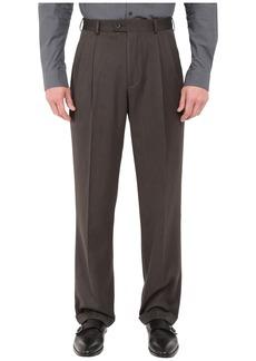 Perry Ellis Classic Fit Double Pleat Micro-Melange Pant