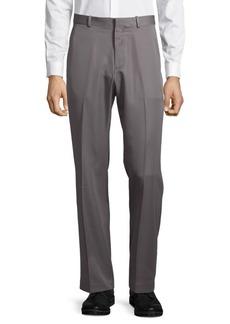 Perry Ellis Portfolio Flat Front Luxury Performance Pants