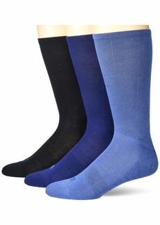 Perry Ellis Portfolio Men's C-Fit Contour Comfort Socks
