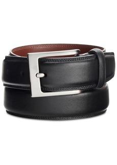 Perry Ellis Portfolio Men's Full-Grain Leather Belt