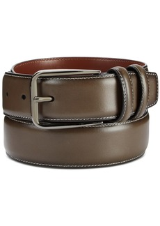 Perry Ellis Portfolio Men's Old English Leather Belt
