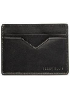 Perry Ellis Portfolio Men's Leather Card Case