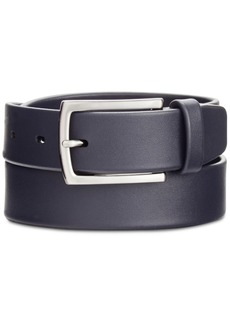 Perry Ellis Portfolio Men's Leather Casual Belt