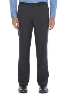 Perry Ellis Portfolio Men's Modern-Fit Non-Iron Performance Stretch Plaid Dress Pants