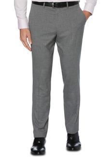 Perry Ellis Portfolio Men's Slim-Fit Stretch Heathered Check Dress Pants